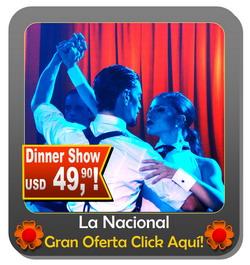 Show de Tango en Buenos Aires La Nacional Tango tradiciona con Milonga