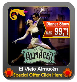 Tango Dinner Show Buenos Aires El Viejo Almacen special offer