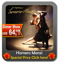 Tango show Buenos Aires Homero Manzi special offer