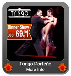 Tango Show Tango Porteno Buenos Aires best price