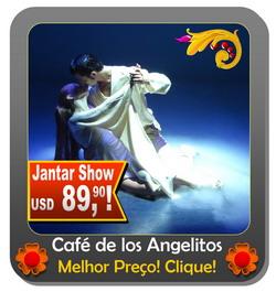 Jantar Tango Show Buenos Aires Café de los Angelitos ingressos e mais informacao