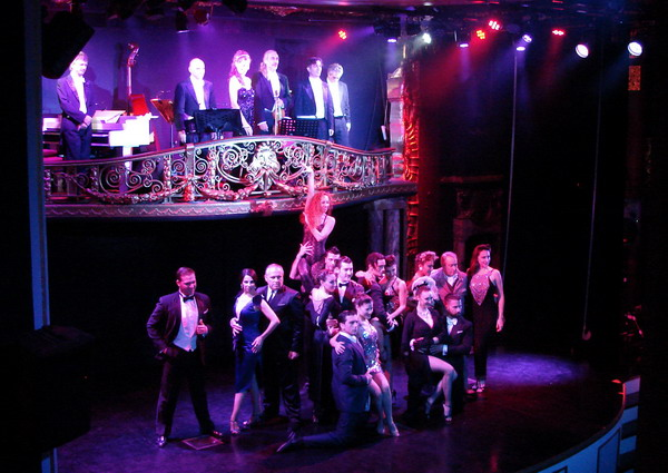 Esquina Carlos Gardel Tango Show cuerpo de baile y orquesta de Tango