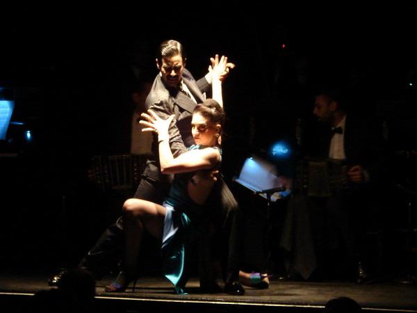 La Ventana Tango San Telmo sensualidad de pose de Tango