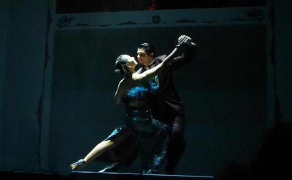 Cafe de los Angelitos Tango show Buenos Aires tango couple