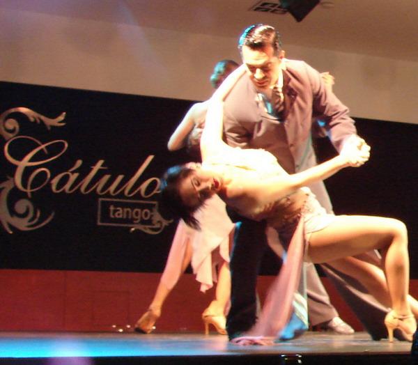 Catulo Tango show de Tango casal de Tango