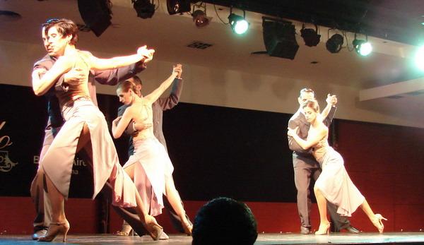 Catulo Tango show de Tango corpo de dance