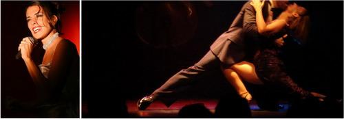 Show de Tango Homero Manzi cantora e bailarinos