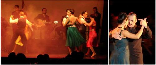 Show de Tango Homero Manzi dance de grupo e casal de tango