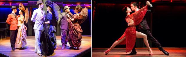 Año nuevo en El Querandi Show de Tango en Buenos Aires bailarines