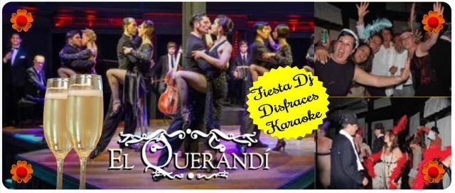 Año nuevo en El Querandi Show de Tango en Buenos Aires