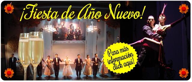 Fiesta Fin De Año en Café de los Angelitos Tango Show en Buenos Aires