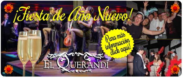 Fiesta Fin De Año en El Querandi Tango Show en Buenos Aires