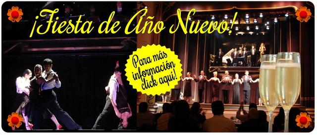 Show de Tango de Año Nuevo en Esquina Carlos Gardel
