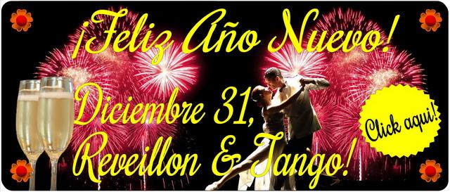 Fiesta de Año Nuevo con cena y Show de Tango en Buenos Aires