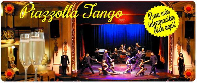 Fiesta Fin De Año en Piazzolla Tango Show de Tango en Buenos Aires
