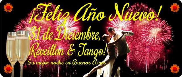 Fiesta fin de año Show de Tango en Buenos Aires