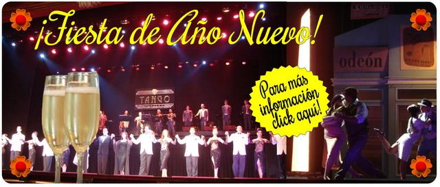 Fiesta Fin De Año en Tango Porteño Tango Show en Buenos Aires