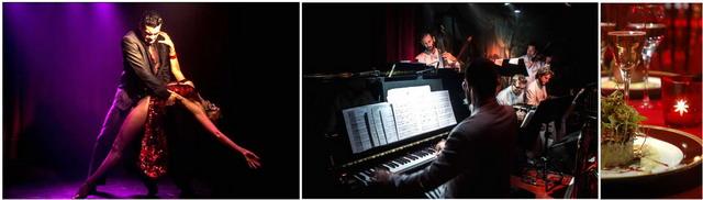 Show de Tango de Año Nuevo en Rojo Tango Buenos Aires, bailarines y orquesta