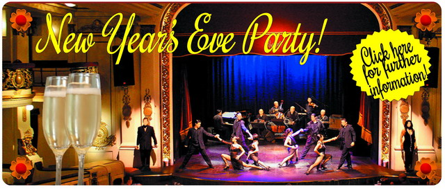 New Year's Eve Reveillon night Piazzolla Tango Show in Buenos Aires